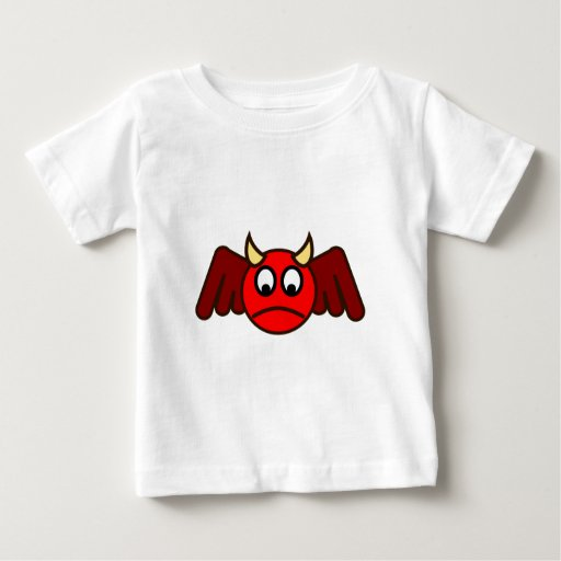 Smilie Teufen smiley devil Playera Para Bebé