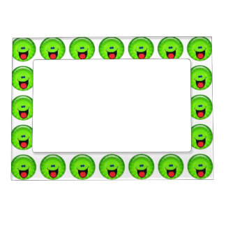 Smilie verde marcos magneticos