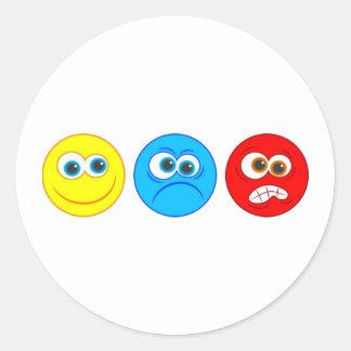 Smilies Classic Round Sticker