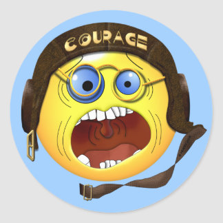 Smilie's Courage Stickers