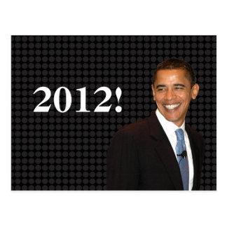 Smilin Barack Obama Tarjetas Postales