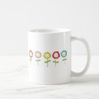 Smilin' Flowers Mugs