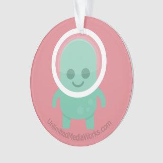 Smiling Alien Ornament