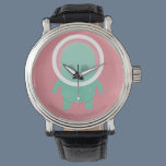 Smiling Alien Wristwatch