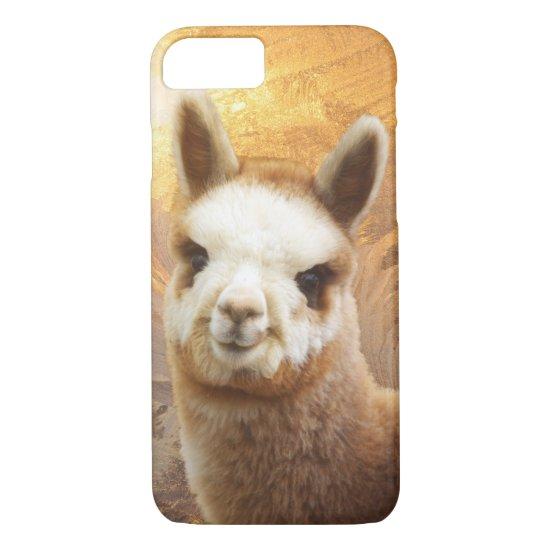 Smiling Alpaca iPhone 7 Case