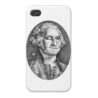 Smiling and Winking iPhone 4 Case