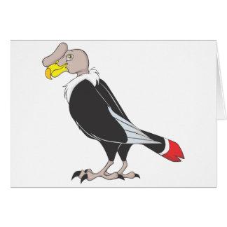 Smiling Andean Condor Bird Card