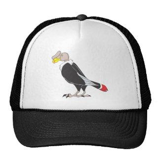 Smiling Andean Condor Bird Trucker Hats