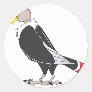 Smiling Andean Condor Bird Sticker