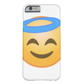 Smiling Angel Emoji Barely There iPhone 6 Case