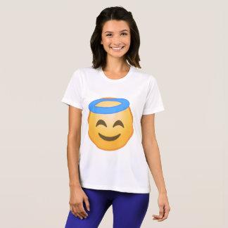 Smiling Angel Emoji T-Shirt