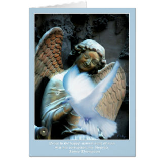 Smiling Angel of Reims Card
