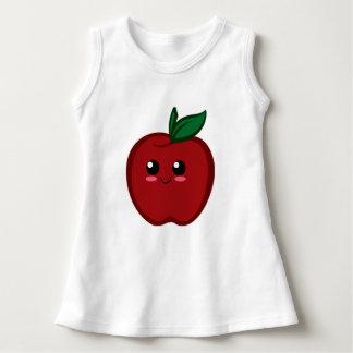 Smiling Apple Baby Sleeveless Dress