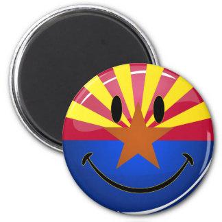 Smiling Arizona Flag Magnet