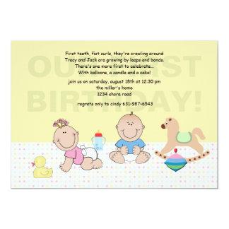 Smiling Babies Invitation