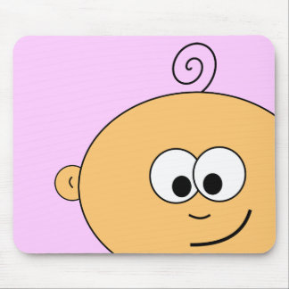 Smiling Baby on Mousepad
