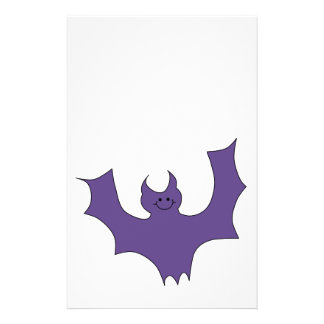 Smiling Bat. Dark Purple. Flyers