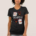 Smiling Beckoning cat - Japanese Manekineko T-shirt