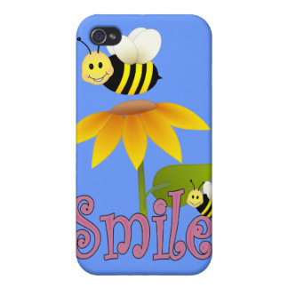 Smiling Bee iPhone 4/4S Cover