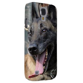 Smiling Belgian Malinois Dog Galaxy S4 Case
