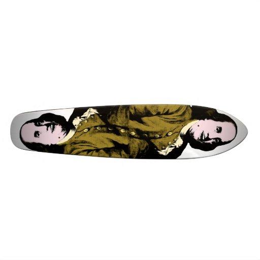 Smiling Ben Franklin ala Warhol Style Skateboard Decks