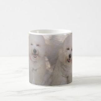 Smiling Bichon Pups Coffee Mug