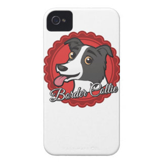 Smiling Border Collie iPhone 4 Case