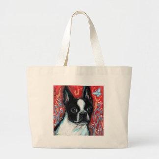 Smiling Boston Terrier Bag