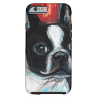 Smiling Boston Terrier iPhone 6 Case