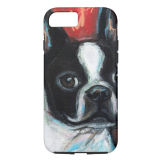 Smiling Boston Terrier iPhone 8/7 Case