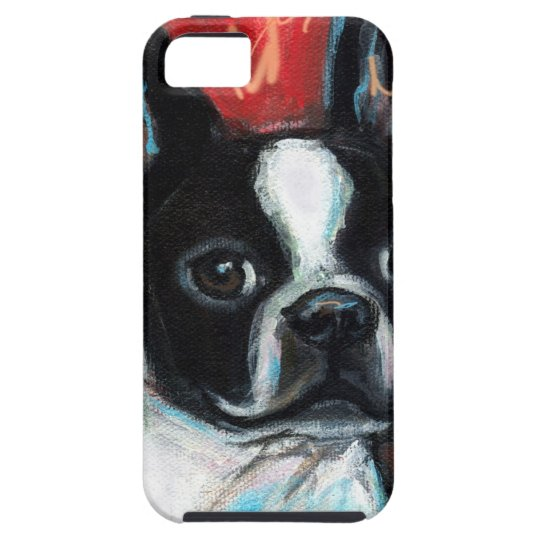 Smiling Boston Terrier iPhone SE/5/5s Case