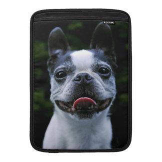 Smiling Boston Terrier MacBook Air Sleeve