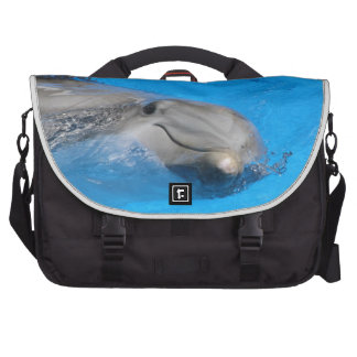 Smiling Bottlenose Dolphin Bag For Laptop