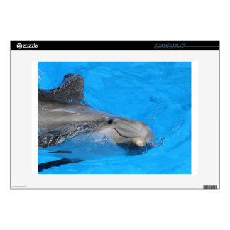 Smiling Bottlenose Dolphin Skins For Laptops