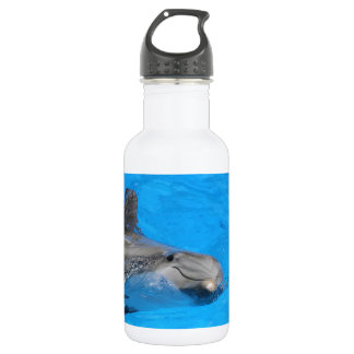 Smiling Bottlenose Dolphin Stainless Steel Water Bottle