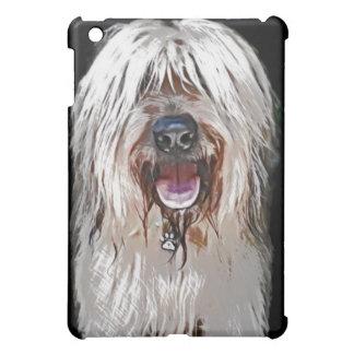 Smiling Briard iPad Mini Cover