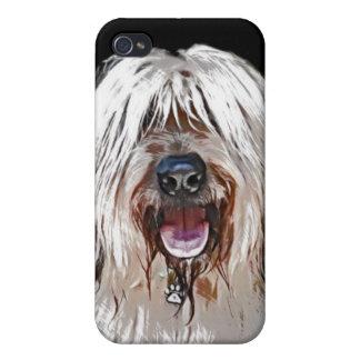 Smiling Briard iPhone 4 Case