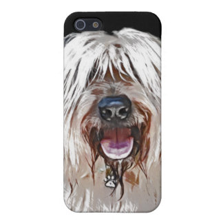 Smiling Briard iPhone 5 Cover