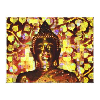 Smiling Buddha canvas Canvas Print