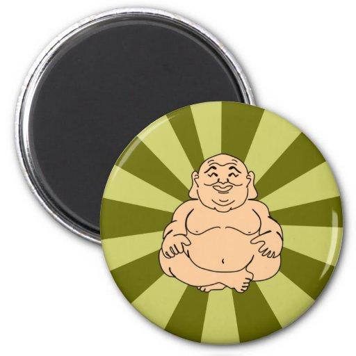 Smiling Buddha Fridge Magnet