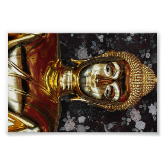 Smiling Buddha from Thailand Poster
