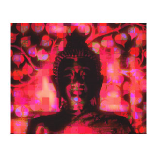 smiling Buddha No.5 canvas Canvas Print