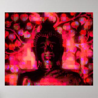 Smiling Buddha No.5 poster