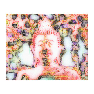 Smiling Buddha No.6 canvas Canvas Print