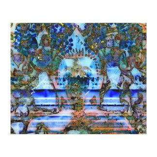 Smiling Buddha No.7 canvas Canvas Print