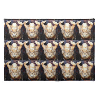 smiling buddha placemats