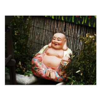 Smiling Buddha Postcard