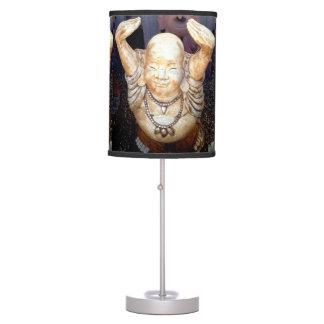 smiling buddha table lamp