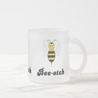 Smiling Bumble Bee Bee-otch Mug