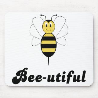 Smiling Bumble Bee Bee-utiful Mousepad
